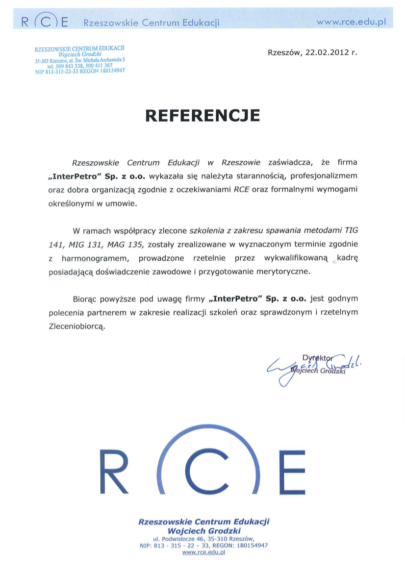 Referencje RCE 02-2012 (1)